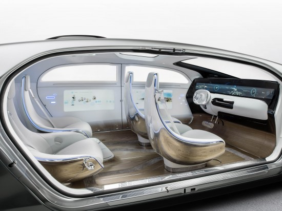Mercedes Benz F 015 Luxury in Motion concept
