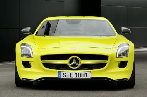 2015 Mercedes-Benz SLS AMG E-CELL - ноль выбросов hypercar