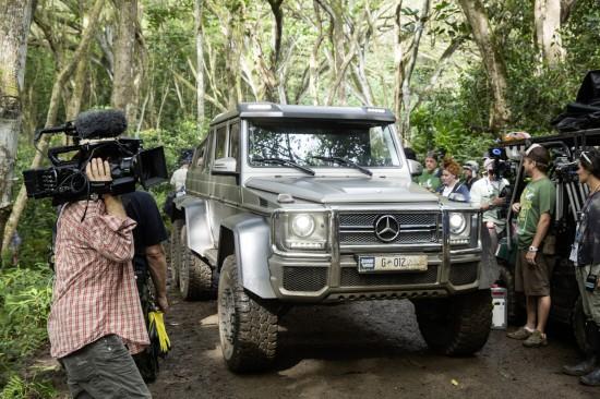 Mercedes-Benz Vehicles in Jurassic World
