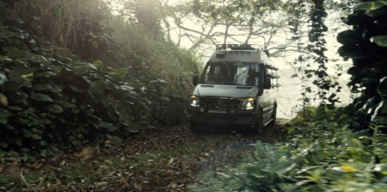 Mercedes-Benz Vehicles in Jurassic World