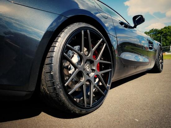 Mercedes GT S LOMA WHEELS