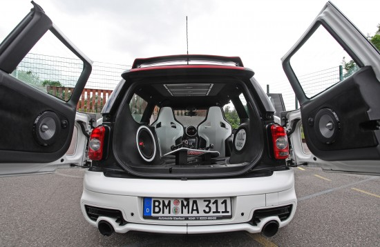 Mini Clubman S with Mac Audio System