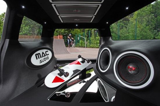 Mini Clubman S with Mac Audio System