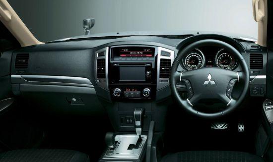 Mitsubishi Pajero Facelift
