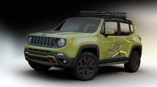 Mopar Jeep Renegade Trailhawk