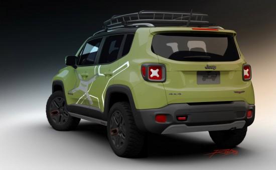 Mopar Jeep Renegade Trailhawk