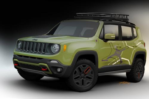 Mopar Jeep Renegade Trailhawk - фотографии