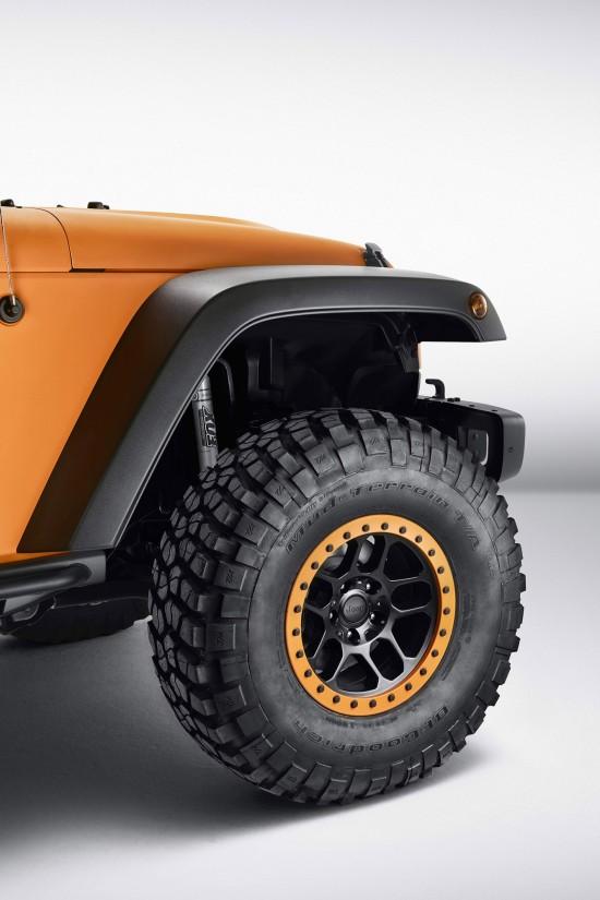 Mopar Jeep Wrangler Rubicon Sunriser