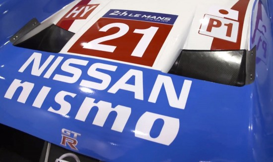 Nissan GT-R LM NISMO No21