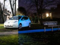 2015 Nissan Leaf Glow-in-the-Dark , 1 of 5