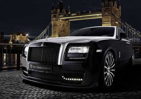 Onyx Rolls-Royce Ghost San Mortiz