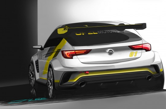 Opel Astra TCR Sketches