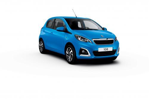 Peugeot 108 теперь с улучшеной производительностью