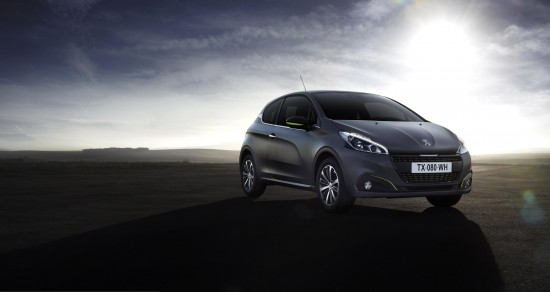 Peugeot 208 Ice Silver