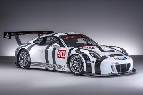 Порше 911 GT3 R - легче, быстрее и мощнее!