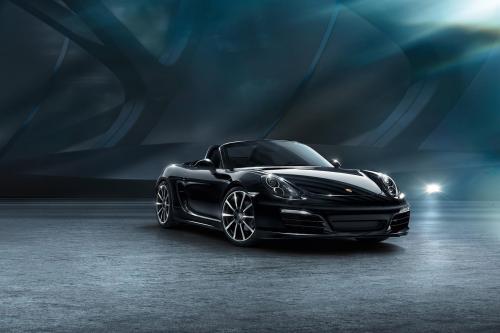 Porsche Boxster черная версия