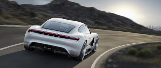 Porsche Mission E Sports Car Concept