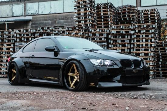 PP Exclusive BMW M3 E92 Liberty Walk