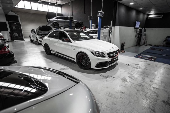 PP-Performance Mercedes-AMG GT S and Mercedes-AMG C63 S