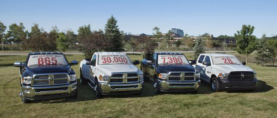 Ram 2500 and 3500 HD