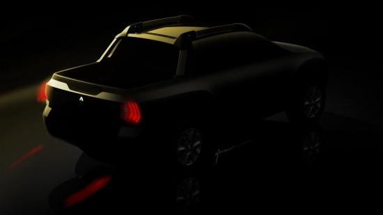 Renault Pickup Teaser