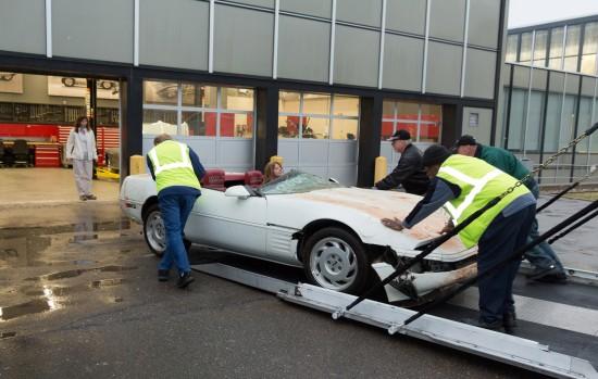 Restoration of One Millionth Chevrolet Corvette