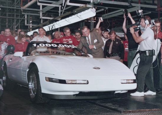 Restoration of One Millionth Chevrolet Corvette