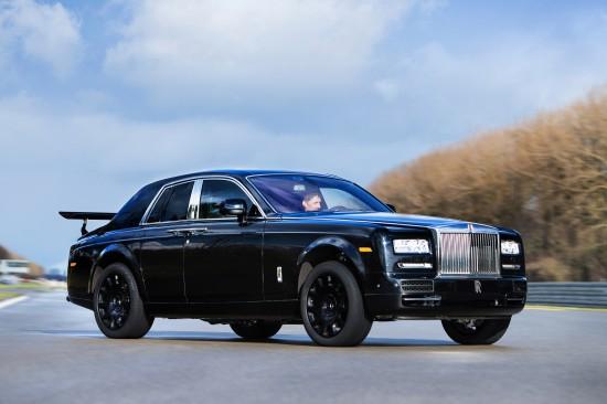 Rolls-Royce engineering mule