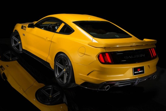 Saleen S302 Black Label Mustang