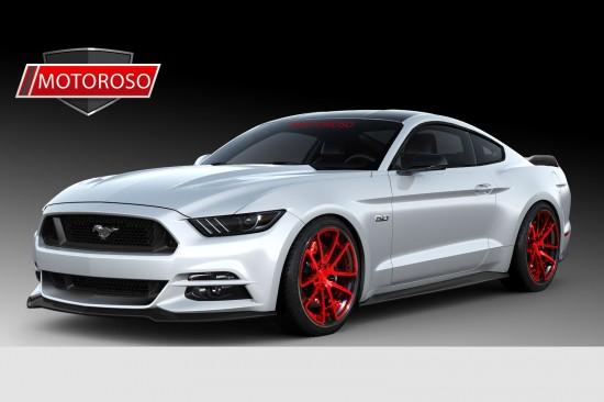 SEMA Ford Mustang Lineup