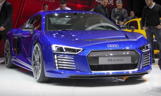 The Audi R8 e-tron Piloted Driving Concept Car