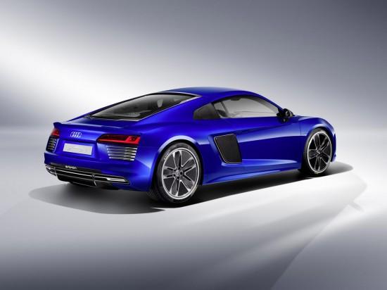 The Audi R8 e-tron Piloted Driving Concept Car