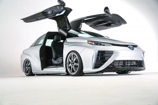 Toyota Back to the Future Mirai Concept