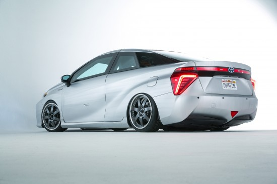Toyota Back to the Future Mirai Concept