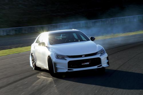 2015 Тойота Марк x Франка grmn-это выражение чистой радости вождения