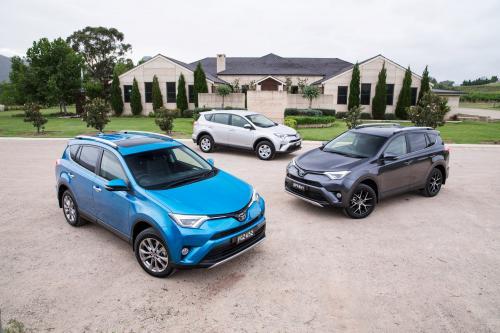 Toyota RAV4 – facelift 2015