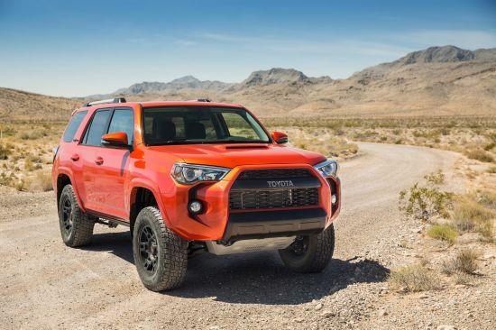 Toyota TRD Pro Series Range