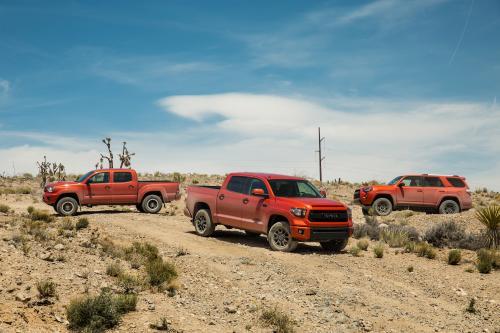 Тойота публикует ценообразования для всех новых ТРД серии Pro тундры