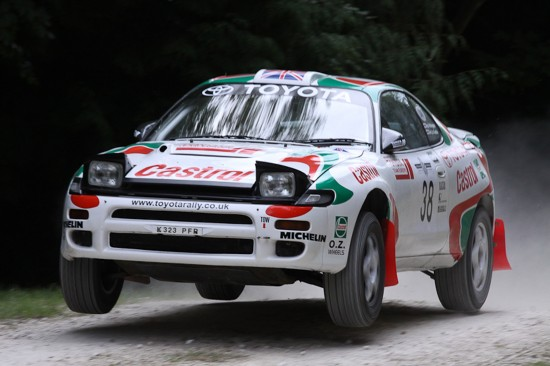 Toyota World Champions at Goodwood Festival of Speed