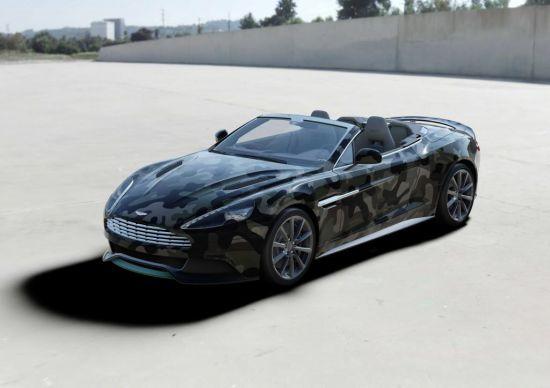 Valentino Aston Martin Vanquish Volante