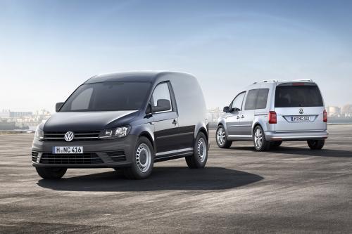 Новый Volkswagen Caddy с различными двигателями