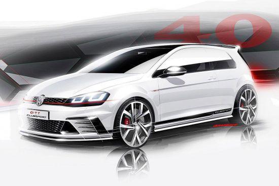 Volkswagen Golf GTI Clubsport Sketches