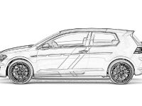 2015 Volkswagen Golf GTI Performance one-off Sketches , 2 of 2
