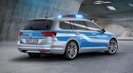 Volkswagen Passat GTE Plug-in-Hybrid German Police