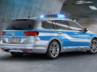 thumbnail image of 2015 Volkswagen Passat GTE Plug-in-Hybrid German Police