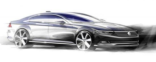 Volkswagen Passat Sketches