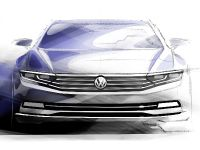 2015 Volkswagen Passat Sketches , 1 of 3