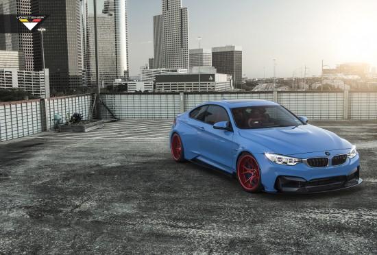 Vorsteiner BMW F82 M4 GTRS4 Yas Marina Blue
