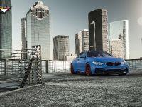 2015 Vorsteiner BMW F82 M4 GTRS4 Yas Marina Blue  , 2 of 7