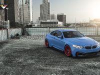 2015 Vorsteiner BMW F82 M4 GTRS4 Yas Marina Blue  , 3 of 7